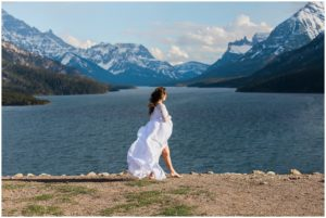 AMELIA- Waterton Maternity Photos