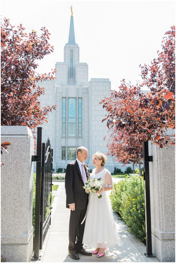 Calgary Temple, LDS Temple, Calgary Temple wedding